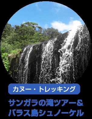 サンガラの滝・バラス島シュノーケル