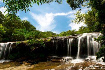 カヌー&トレッキング サンガラの滝ツアー