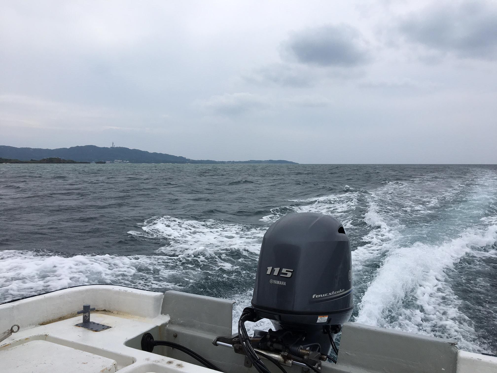 いつもよりエキサイティングな海でした!!